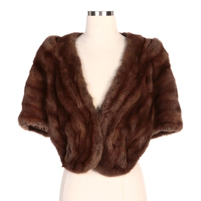 Marten Fur Stole from Pogue's