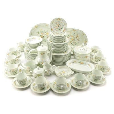 "Noritake ""Lineage"" Floral Porcelain Dinnerware and Serveware, 1977–1984"