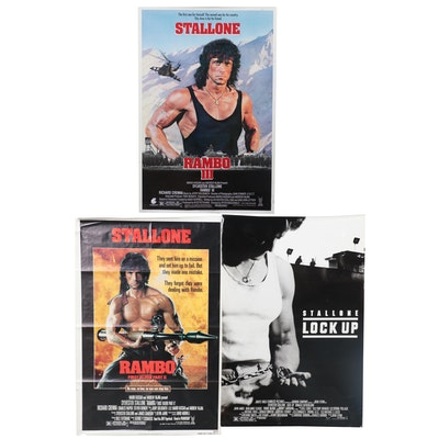 Theatrical Release Posters for Sylvester Stallone Films