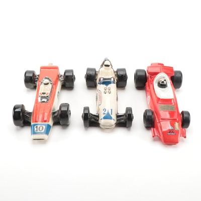 Ezra Brooks and Other Indianapolis 500 Decanters Including Mario Andretti #9 Car