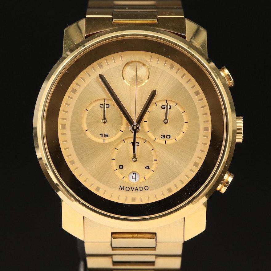 Movado Bold Chronograph Wristwatch