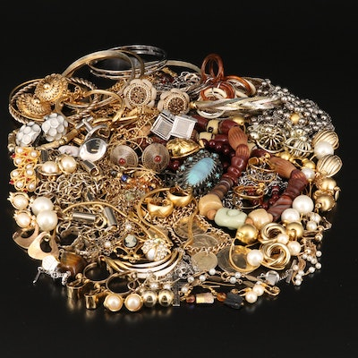 Costume Jewelry Featuring Anne Klein, Coldwater Creek and Coin Accents