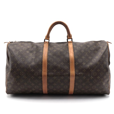 Louis Vuitton Keepall 60 in Monogram Canvas