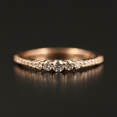EFFY 14K Diamond Graduated Ring