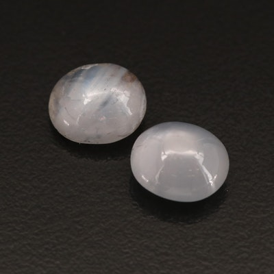 Loose 8.73 CTW Oval Star Sapphire Cabochon