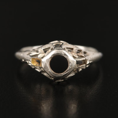Antique 18K Ring Mounting
