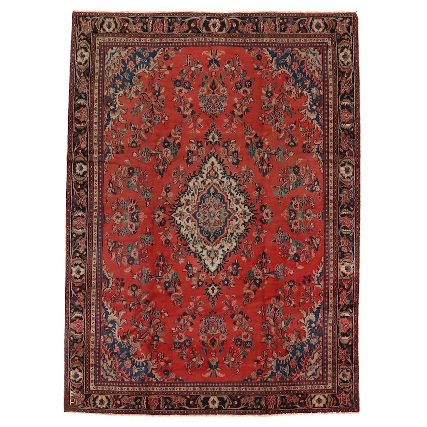 8' x 11'2 Hand-Knotted Persian Mehriban Area Rug