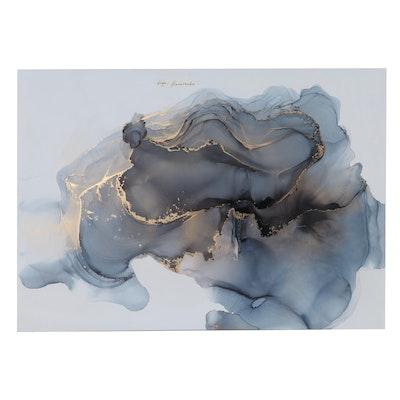 "Inga Kovalenko Abstract Ink Painting ""Number #51,"" 2021"