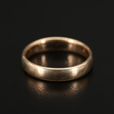 Antique 14K Gold Band