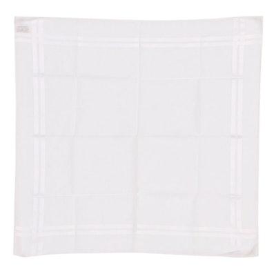 Hermès Paris Cotton Jacquard Handkerchief