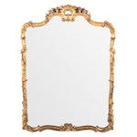 Rococo Style Giltwood and Composition Mirror, 20th Century
