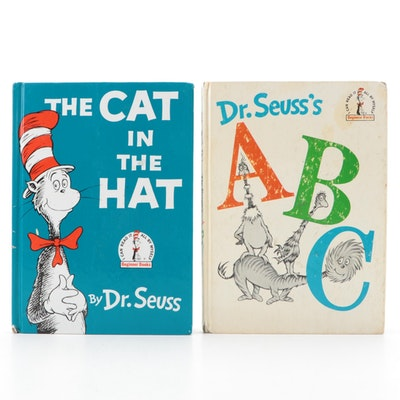"""The Cat in the Hat,"" and ""ABC"" Dr. Seuss Children's Books"