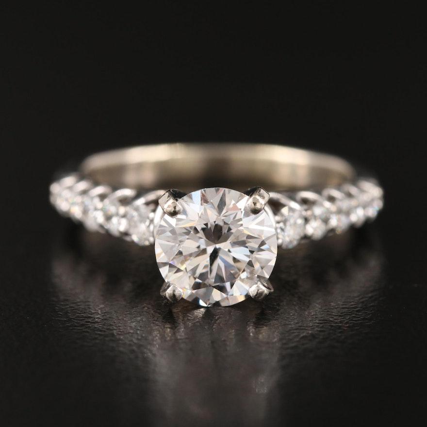 14K 2.24 CTW Diamond Ring