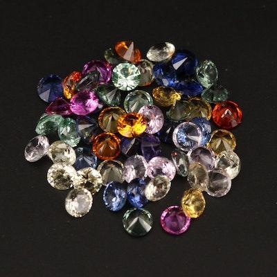 Loose Laboratory Grown Sapphires