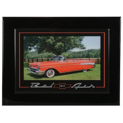 Jesse Best Giclée of 1957 Chevorlet Bel Air, 21st Century
