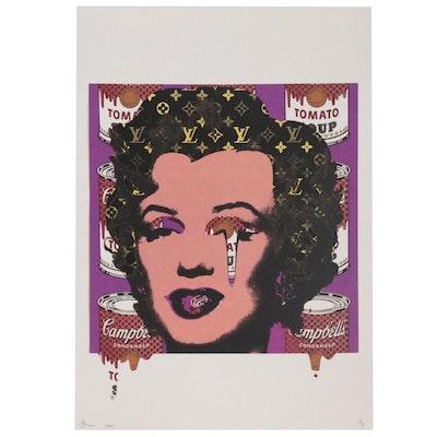 Death NYC Giclée Featuring Marilyn Monroe, 2020