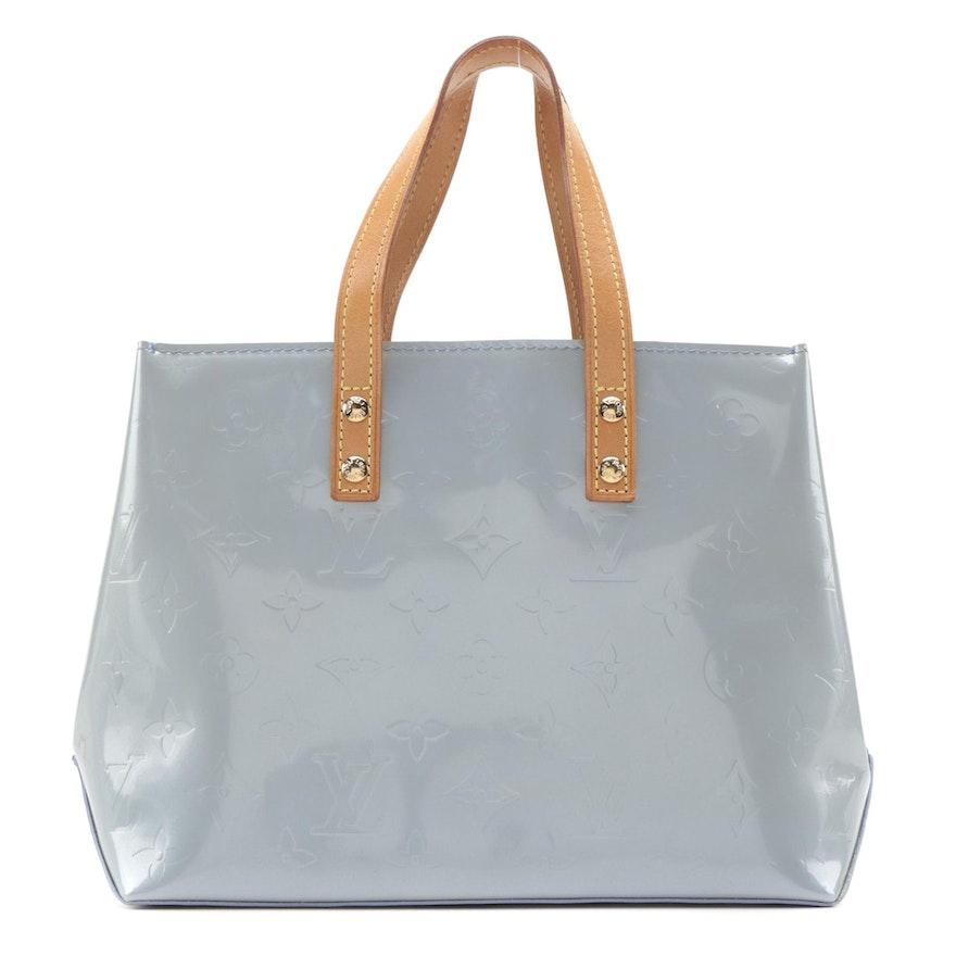 Louis Vuitton Reade PM Tote in Lavender Monogram Vernis and Vachetta Leather