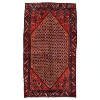4'4 x 8' Hand-Knotted Persian Kolyai Area Rug