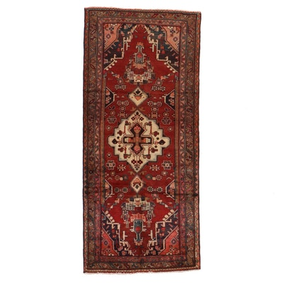 3'8 x 8'2 Hand-Knotted Northwest Persian Long Rug
