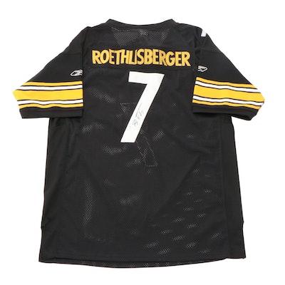 "Ben Roethlisberger Signed Reebok ""Super Bowl XLIII"" Steelers Jersey, COA"
