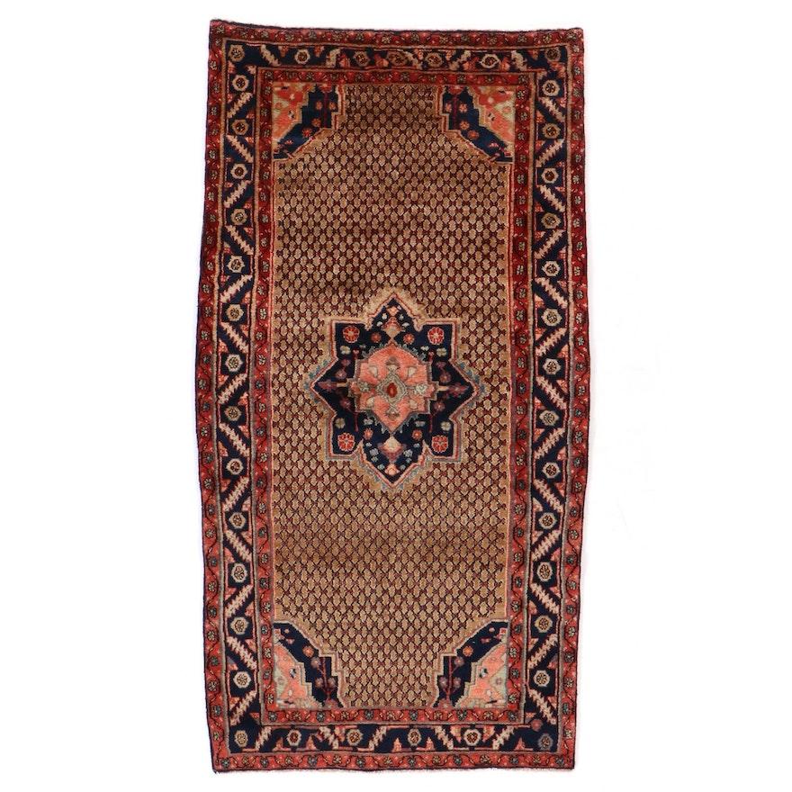 4'6 x 8'7 Hand-Knotted Persian Kolyai Area Rug
