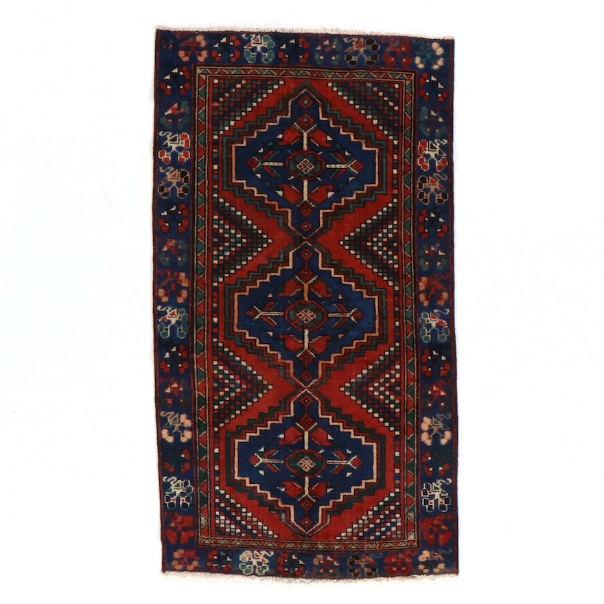 3'6 x 6'6 Hand-Knotted Northwest Persian Luri Area Rug