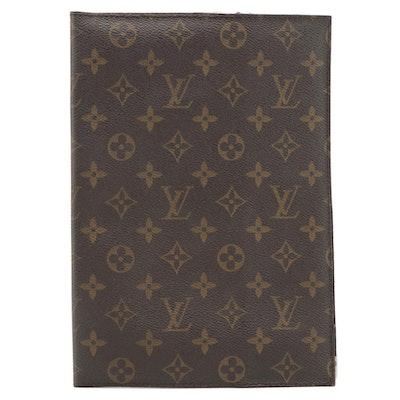 Louis Vuitton Monogram Coated Canvas Folder