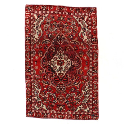 6'4 x 9'11 Hand-Knotted Persian Bakhtiari Area Rug