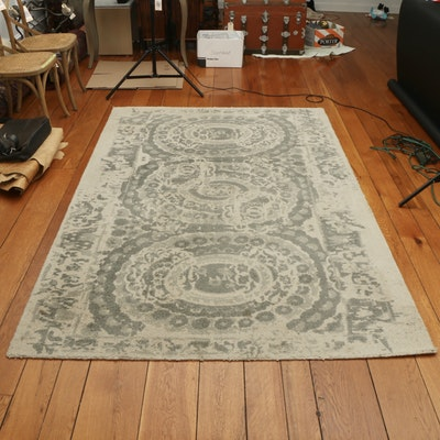 "5' x 8' Hand-Tufted Kaleen ""Bosworth"" Printed Area Rug"