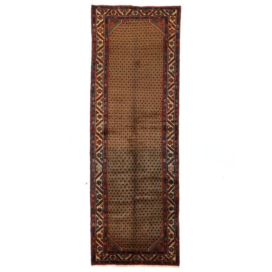 4'1 x 11'8 Hand-Knotted Persian Kolyai Long Rug