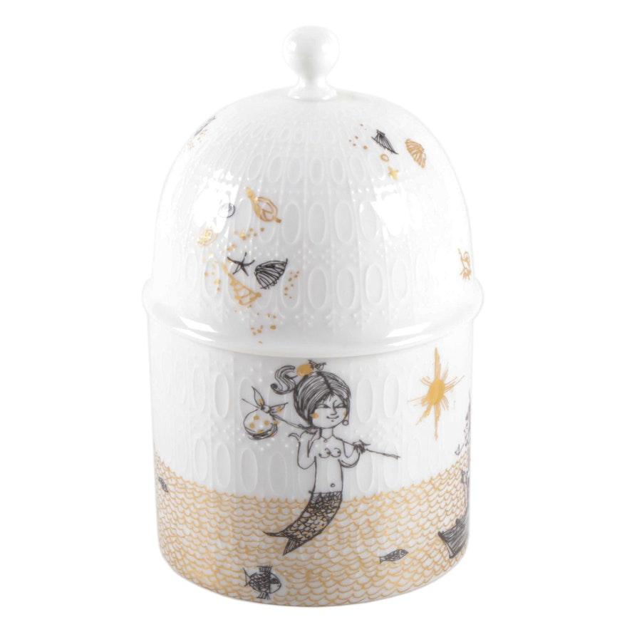 Raymond Peynet for Rosenthal Porcelain Lidded Candy Box