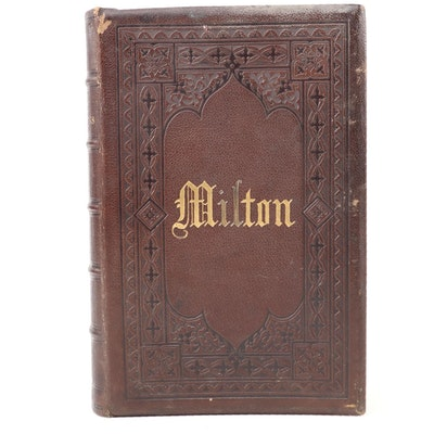 """The Poetical Works of John Milton"" Edited by Sir Egerton Brydges, 1873"