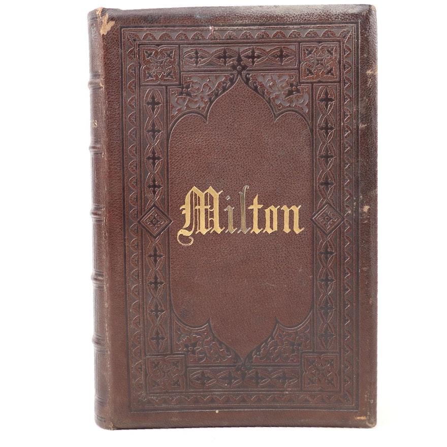 """The Poetical Works of John Milton"" Edited by Sir Egerton Brydges, 1873"