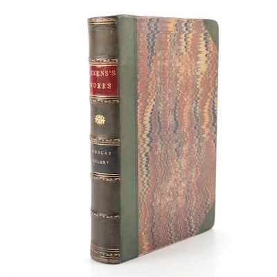 """Nicholas Nickleby"" by Charles Dickens, 1857"