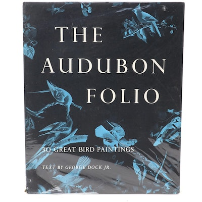 """The Audubon Folio: 30 Great Bird Paintings"" by George Dock, Jr., 1964"
