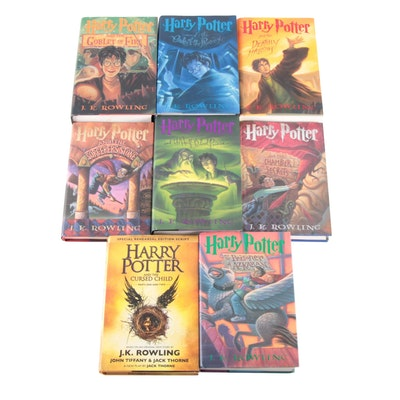 "First American Edition ""Harry Potter"" Complete Set with ""Cursed Child"" Script"