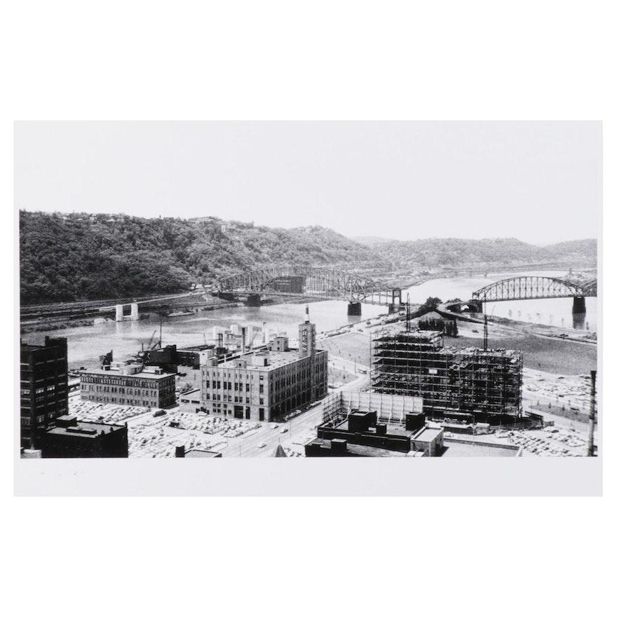 W. Glen Davis Halftone of Pittsburgh Building Construction