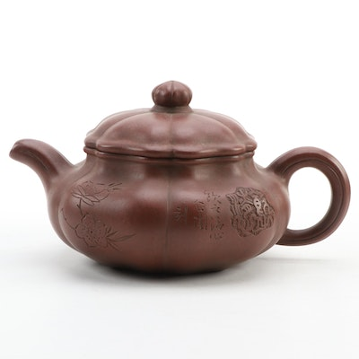Chinese Zisha Clay Yixing Tea Pot