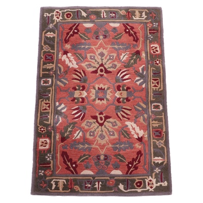 """3'7 x 5'5 Hand-Tufted Safavieh Chinese """"Rodeo Drive"""" Wool Area Rug"""