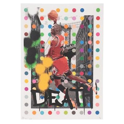 Death NYC Graphic Print Damien Hirst Michael Jordan, 2020