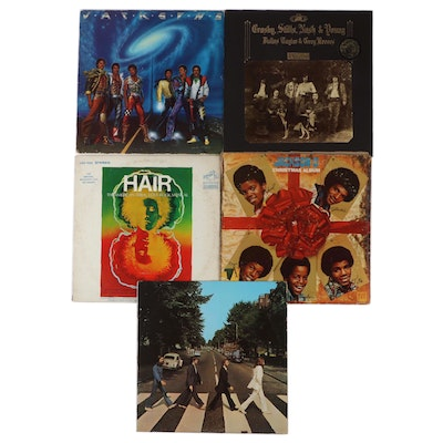 """The Beatles, Jackson 5, """"Hair"""" and Other Vinyl Records"""