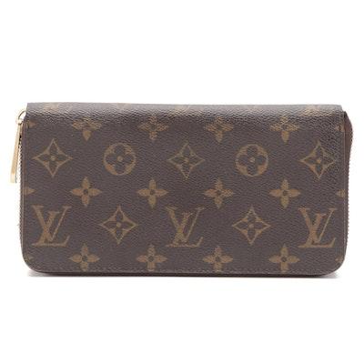 Louis Vuitton Zippy Wallet in Monogram Canvas