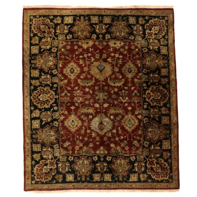 8'3 x 10' Hand-Knotted Indo-Persian Mahal Style Area Rug
