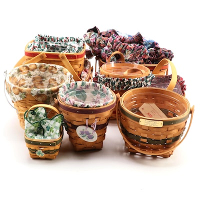 "Longaberger ""Christmas Collection"" Baskets and Other Longaberger Baskets"
