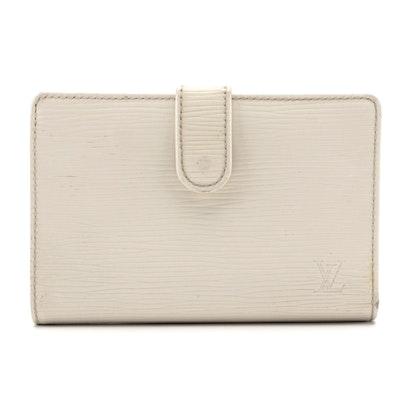 Louis Vuitton Porte-Monnaie Billets Viennois in Ivorie Epi Leather