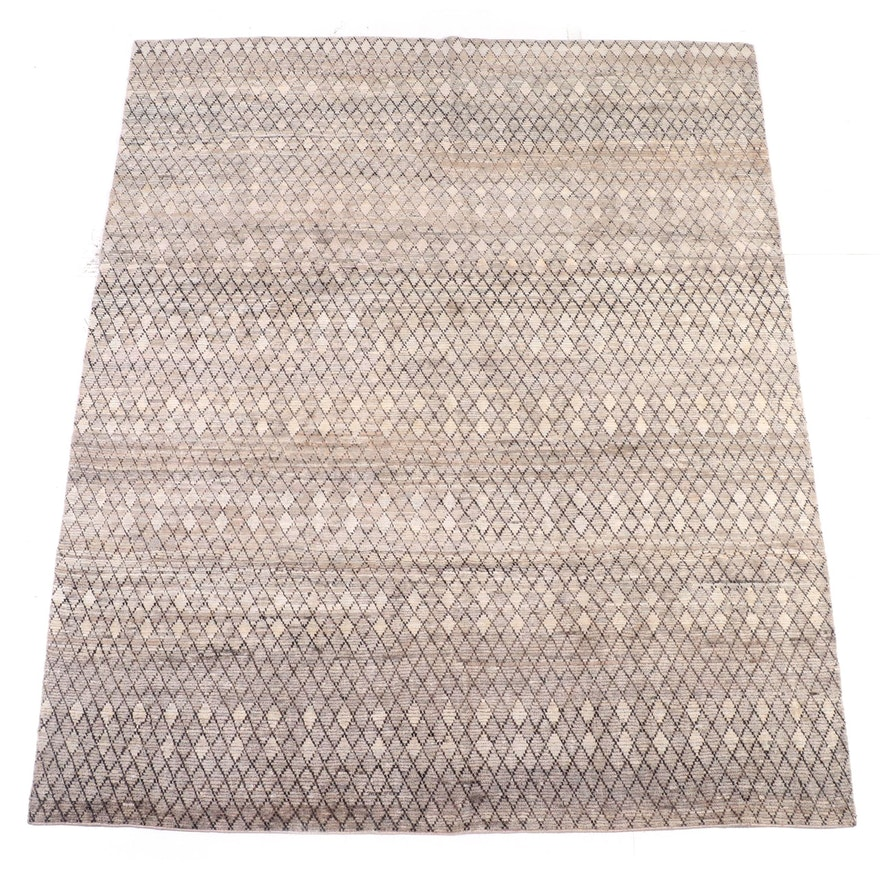 8'3 x 9'11 Hand-Knotted Indian Area Rug from The Rug Gallery