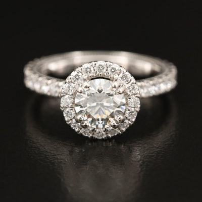 Verragio 14K 2.00 CTW Diamond Ring