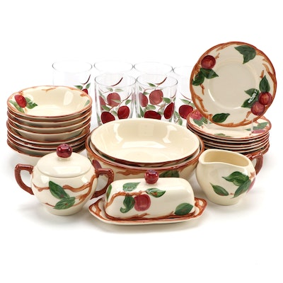 "Franciscan ""Apple"" Earthenware Dinnerware, 1985–2003"