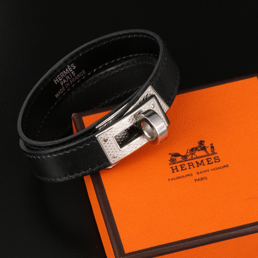 "Hermès ""Kelly Double Tour"" Bracelet"