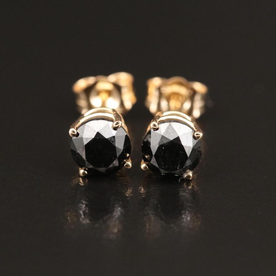 14K 1.68 CTW Diamond Stud Earrings